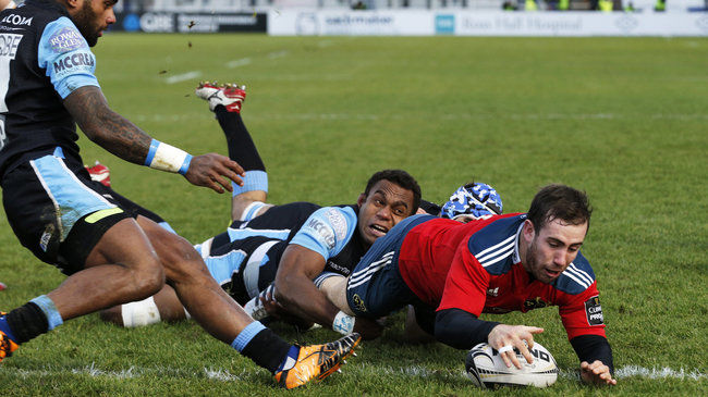 Munster Left To Rue Late Concession At Scotstoun