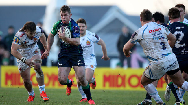Connacht Undone By Exeter's Superior Second Half
