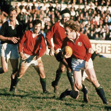 Fergus Slattery in action for the British and Irish Lions