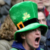 Irish fan getting involved