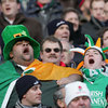 Irish fans at Twickenham