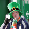 Irish rugby fan at Twickenham