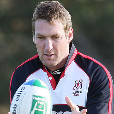 Justin Harrison is back in the Ulster side