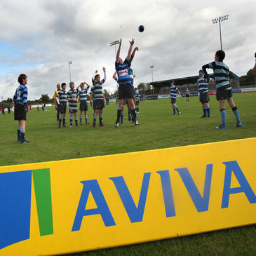 Dubarry Park was the venue for the Aviva Rugby Festival