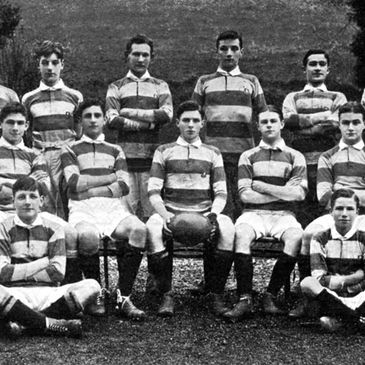 A Castleknock College side from yesteryear