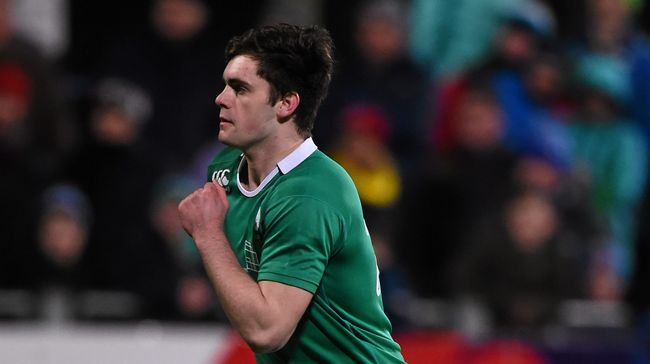 Ireland Under-20 Side Named For France Encounter