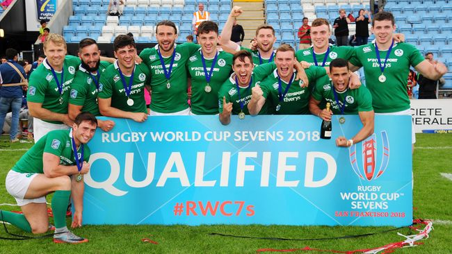 Ireland Men's Sevens Squad Confirmed For 2017/18 Season