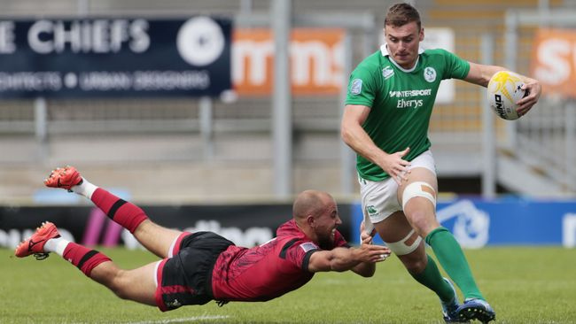 Ireland Men's Sevens Team To Make Stateside Debut At Silicon Valley 7s
