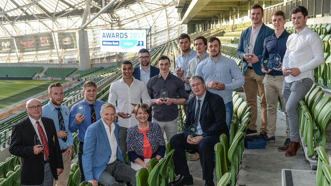 Ulster Bank League Award Winners Take Centre Stage At Aviva Stadium