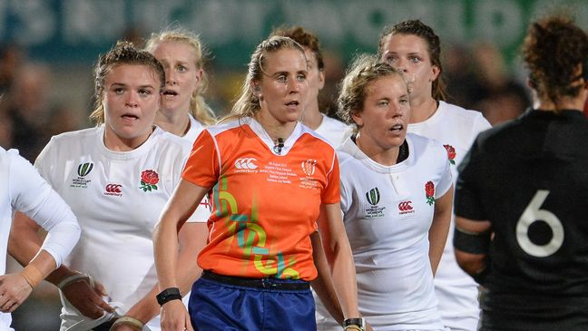 IRFU-contracted referee Joy Neville