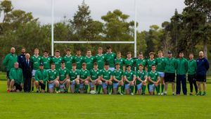 Portugal U-18s 12 Ireland U-18 Clubs XV 46, Estádio Nacional, Jamor, Lisbon, Saturday, November 5, 2016