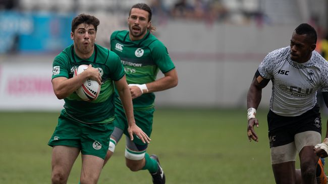 Ireland Sevens star Jimmy O'Brien