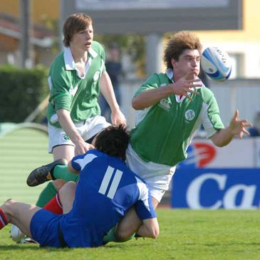 Action from last weekend's FIRA-AER U-18 final