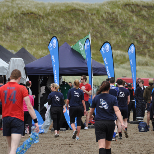 Beach Tag at Culleenamore Beach, Strandhill, Co.Sligo (courtesy Sligo RFC)