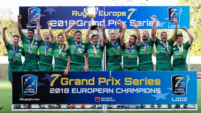 Ireland Men Create More History As New European Sevens Champions