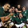 The Ireland Under-20s celebrate beating Scotland to set themselves up as this year's champions