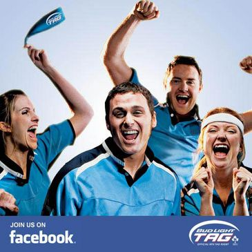 Bud Light Tag's Facebook now online for the summer 2010 season - join in!