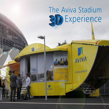 Get the feel of taking the pitch with the Aviva Stadium 3D Experience