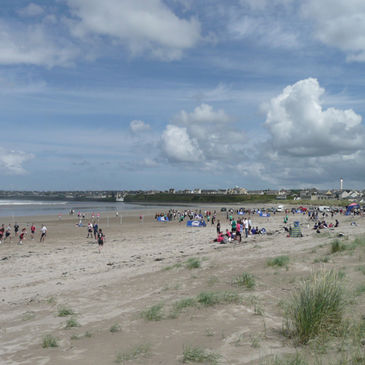 Beach Tag at Enniscrone is one the highlights of the IRFU Tag season