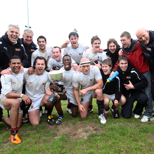 Trinity are the first ever IRFU All-Ireland Club Sevens champions