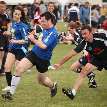 The IRFU Tag All-Ireland Championship titles were decided at Suttonians RFC