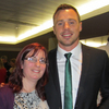 ... as was winger, Tommy Bowe ...