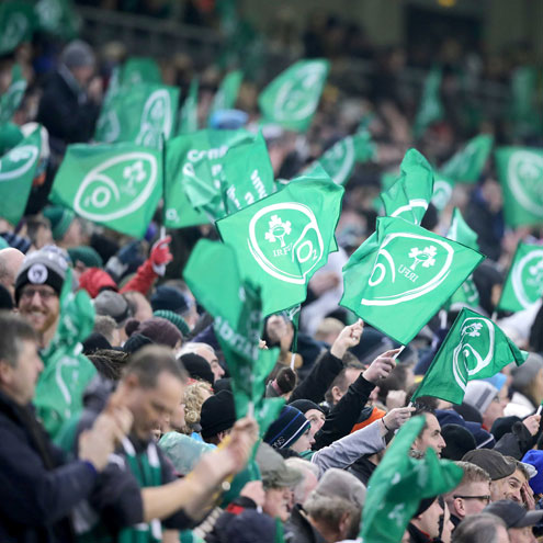 Shout for Ireland with IRFU Volkswagen Tag in 2014