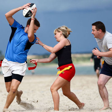 IRFU Beach Tag Gets Underway at Strandhill