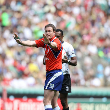 David Keane is one of the most experienced referees on the Sevens circuit