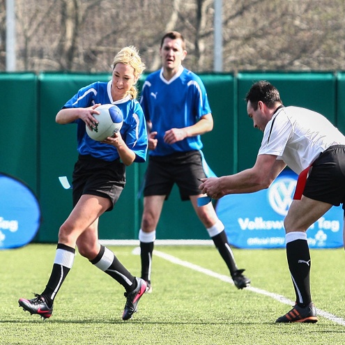 Tag rugby combines a healthy and fun lifestyle on the pitch and off the pitch.