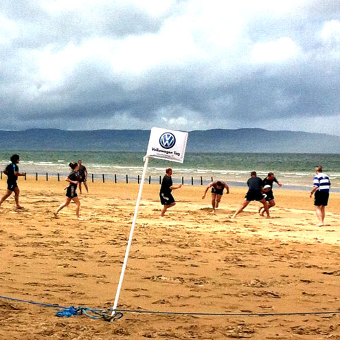Once again, Portstewart was the setting for a cracking day's IRFU Beach Tag