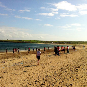 The Tag rugby season ends in style at Ventry Beach