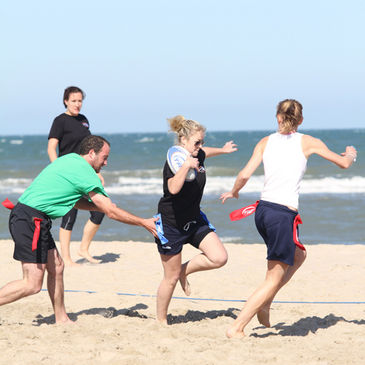 Schedule for IRFU Beach Tag at Curracloe, Wexford on August 6