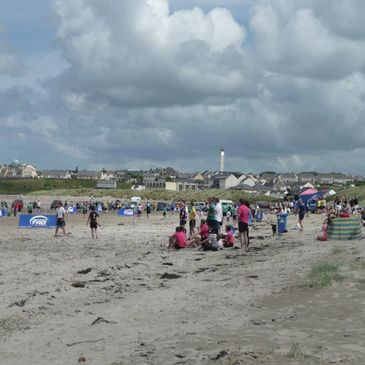 Back to Enniscrone went Bud Light Tag for another great Beach Tag event.