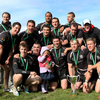 Old Belvedere added the Leinster Club Sevens title to their Ulster Bank League Division 1 crown