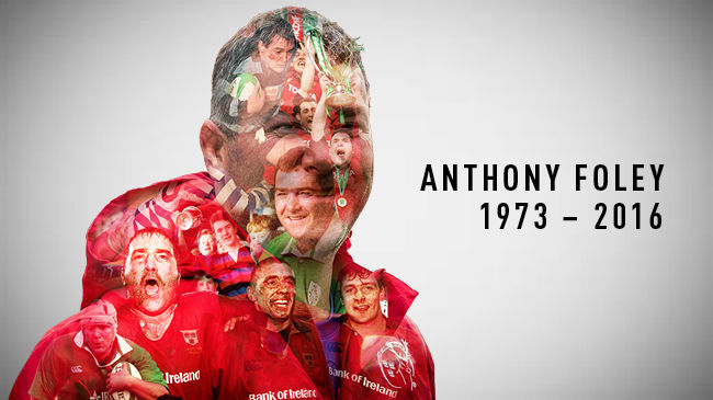 Arrangements Confirmed For Anthony Foley's Funeral