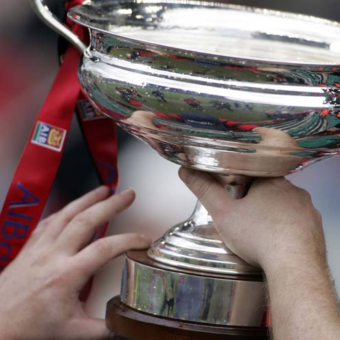 The AIB Cup and AIB Junior Cup finals will be played at Dubarry Park