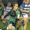 Aaron Cairns, the Ballynahinch scrum half, was one of the best players on show during the Friday Night Lights clash at Stevenson Park