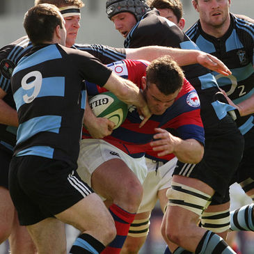 Aaron Dundon in action for Clontarf