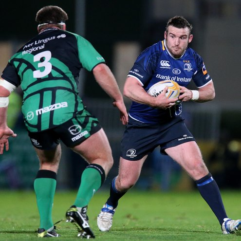 Aaron Dundon takes on Nathan White during last December's game in Dublin