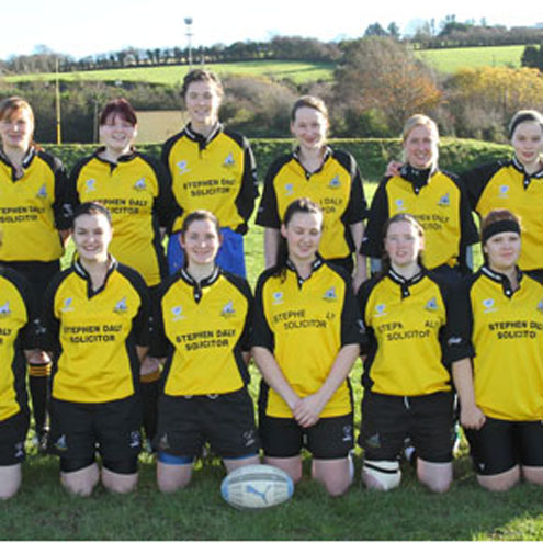 Members of the Abbeyfeale Women's squad