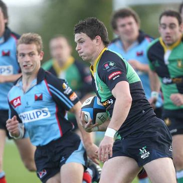 Ballynahinch and Belfast Harlequins will clash on Saturday