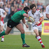 Full-back Adam D'Arcy took an inside pass from Ian Humphreys in the build-up to Ulster's opening try from Rory Best