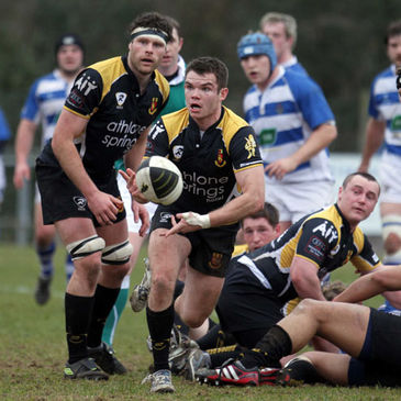 Buccaneers compete in Division 1B of the Ulster Bank League