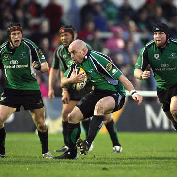 Adrian Flavin leads the charge for Connacht