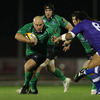 Hooker Adrian Flavin was Connacht's captain for the night and led by example throughout