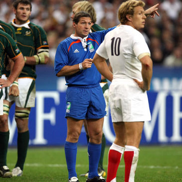 Alain Rolland refereed the 2007 World Cup final