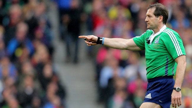 IRFU international referee Alain Rolland