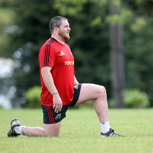 Munster development prop Alan Cotter