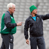 Ireland backs coach Alan Gaffney and defence coach Les Kiss, both proud Australians, will be hoping to get one over on the country of their birth this weekend